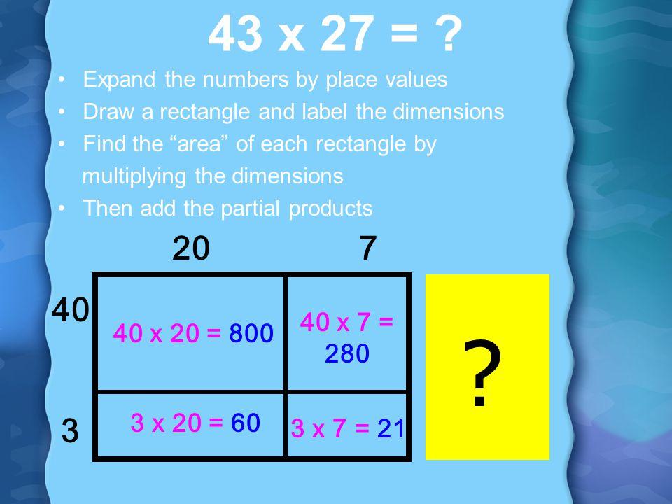 1-digit by 4-digit Multiplication - ppt video online download