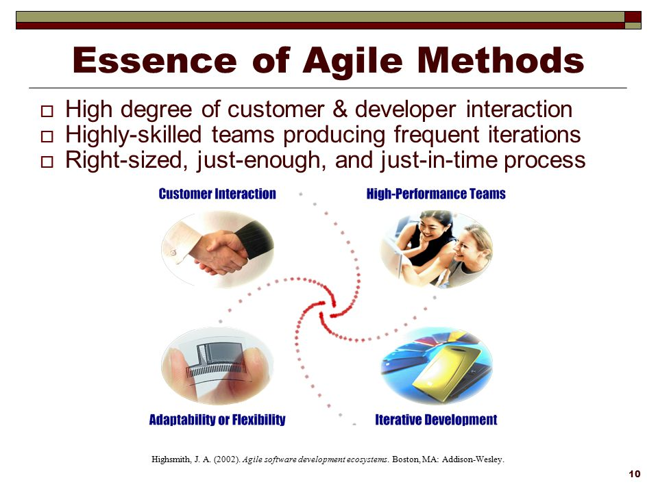 Essence of Agile Methods
