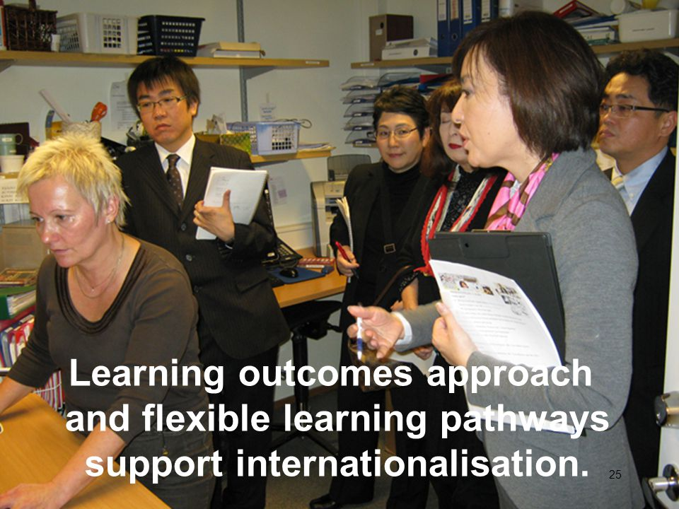 Learning outcomes approach and flexible learning pathways