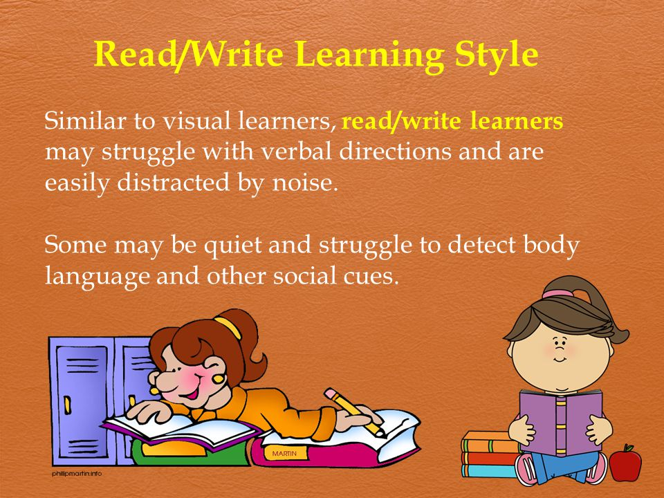 Read/Write Learning Style