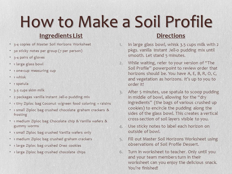 The Soil Profile Ppt Video Online Download