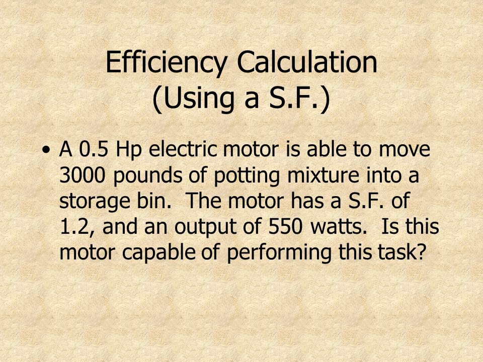 10 Efficiency Calculation ...