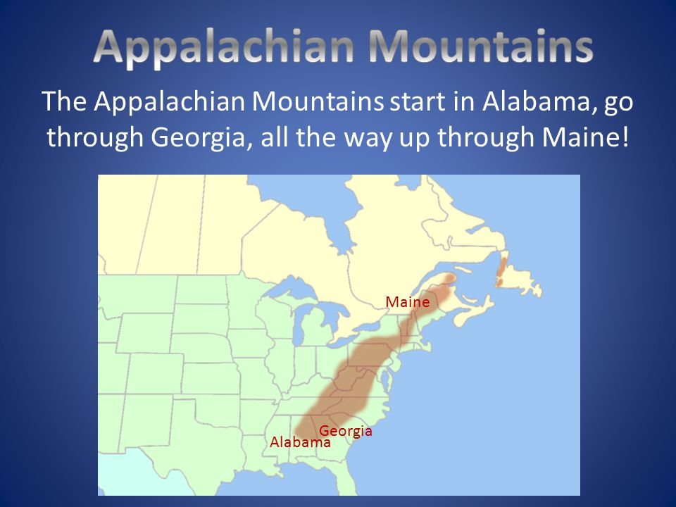 Mountain Ranges Of The United States Ppt Video Online Download