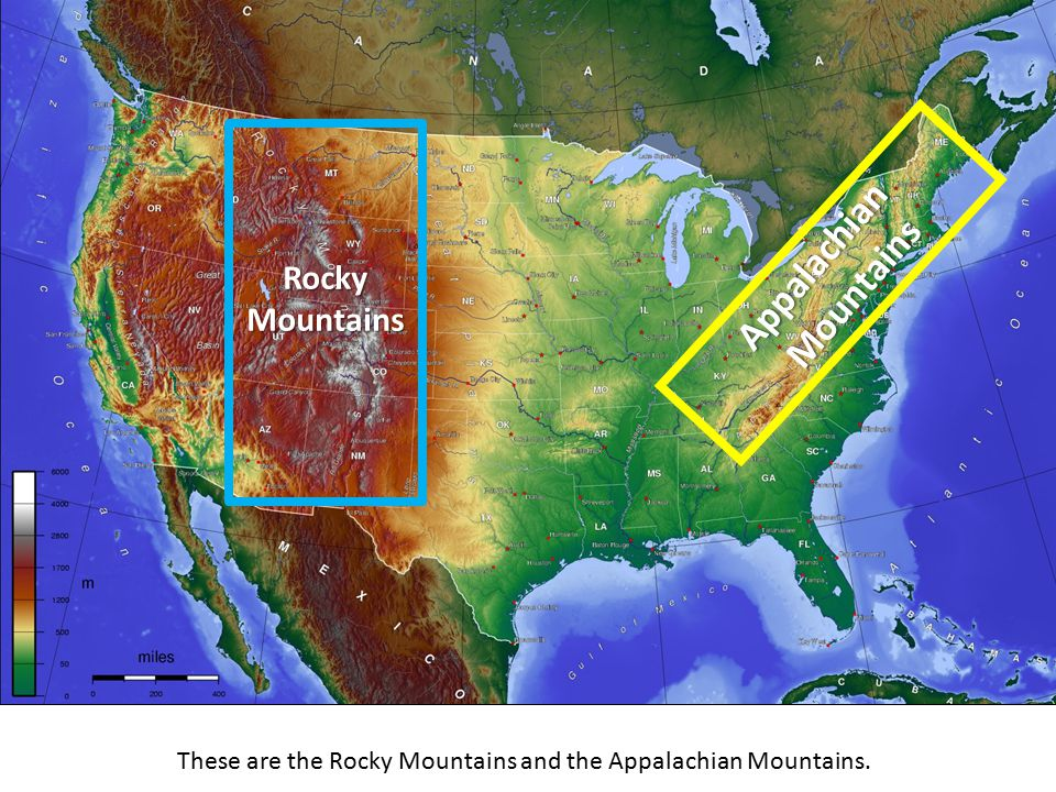 Mountain Ranges of the United States - ppt video online download