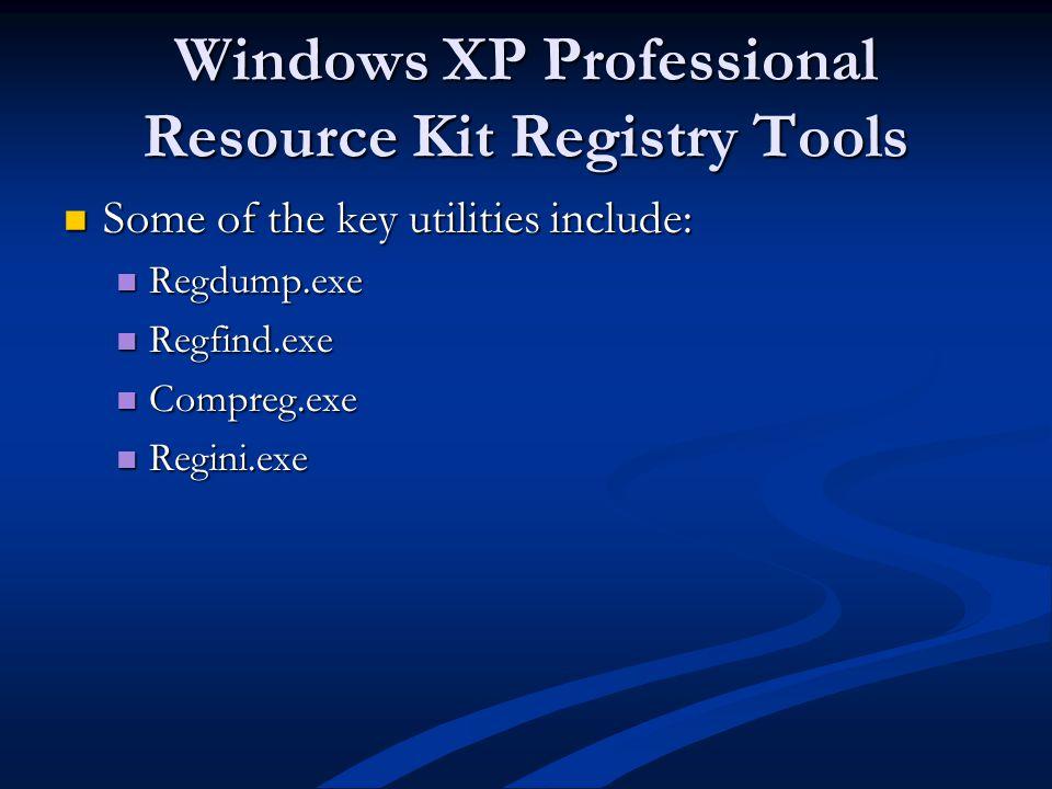 get windows xp key from registry