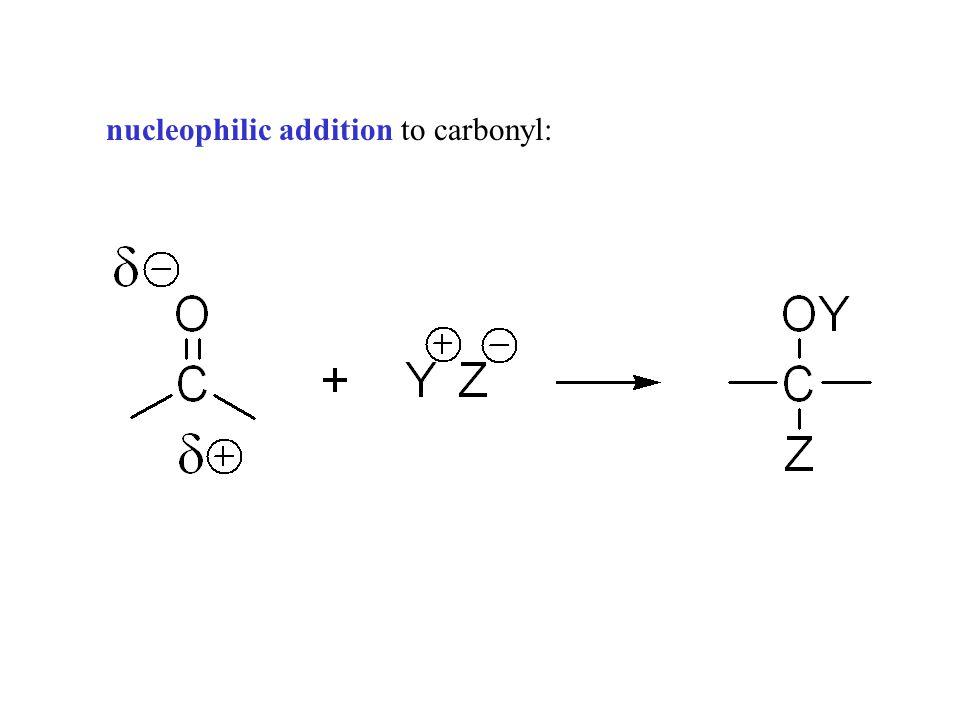 nucleophilic addition reaction mechanism pdf