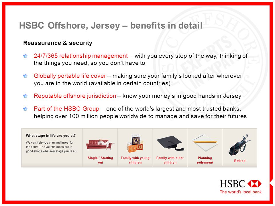 Hsbc Offshore Jersey