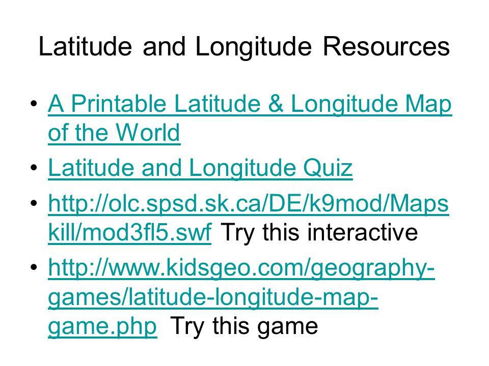 Latitude and longitude ppt download latitude and longitude resources gumiabroncs Choice Image