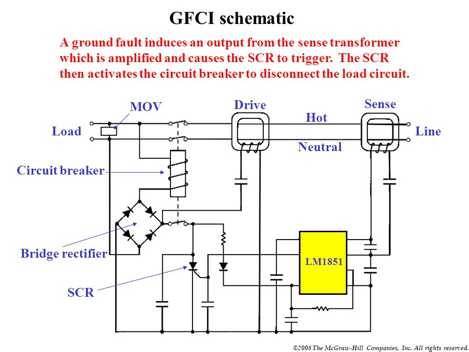 Remarkable Gfci Wiring Diagram Ppt Basic Electronics Wiring Diagram Wiring Database Numdin4X4Andersnl