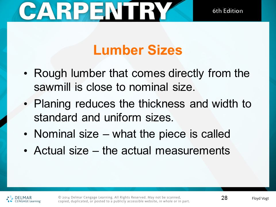 Chapter 2 Lumber  - ppt download