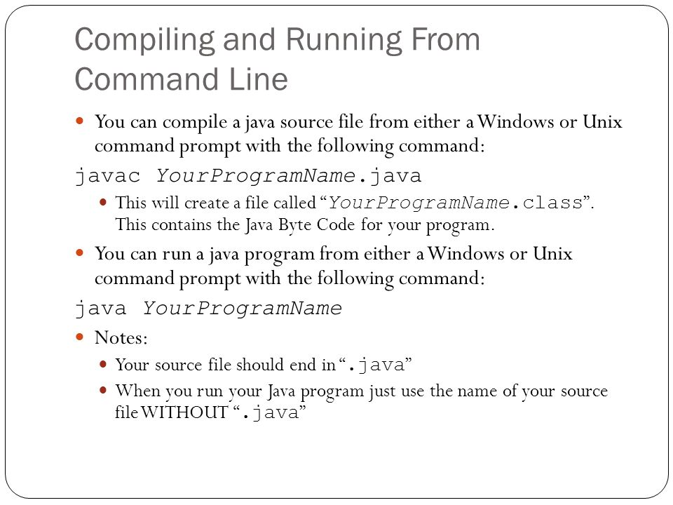 Getting Started with Java - ppt download