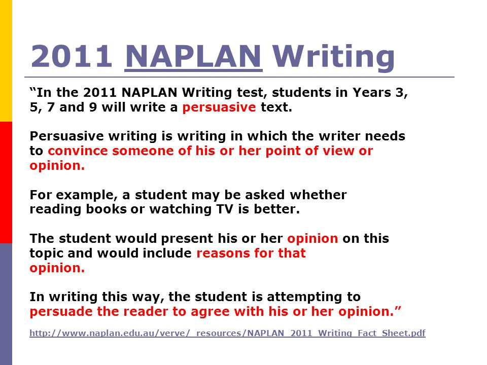 persuasive writing examples year 7