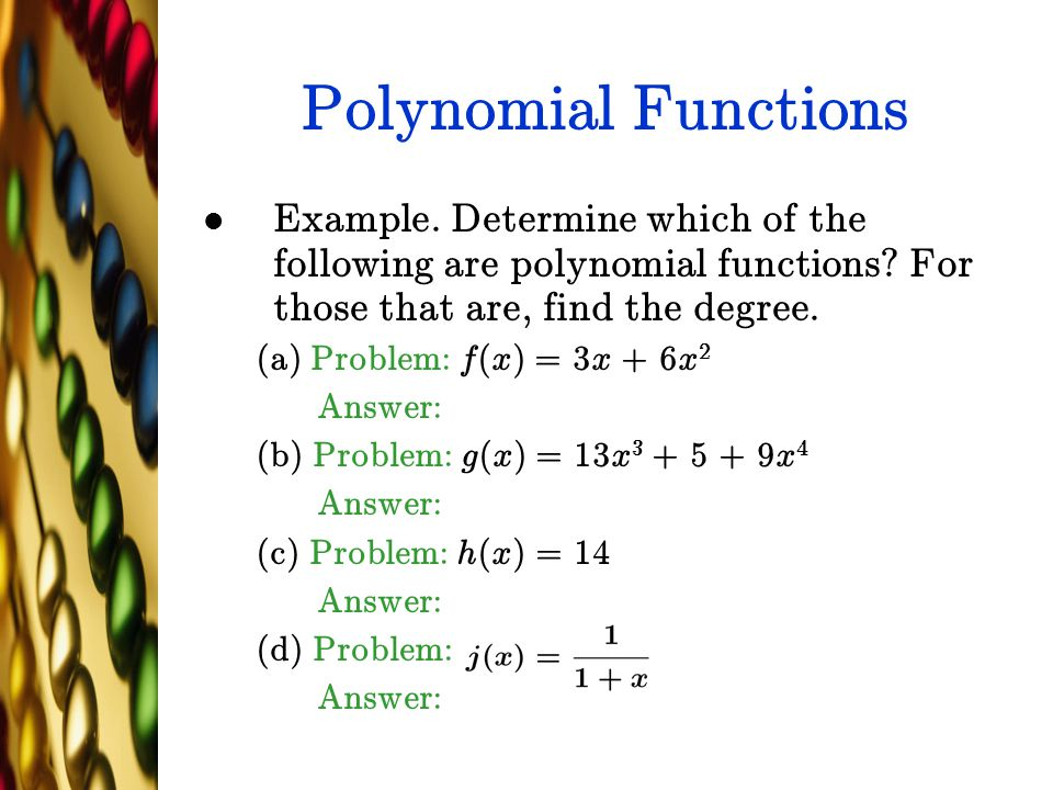 Linear algebra example problems a polynomial subspace youtube.