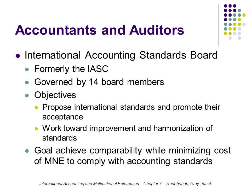 international accounting standards board members