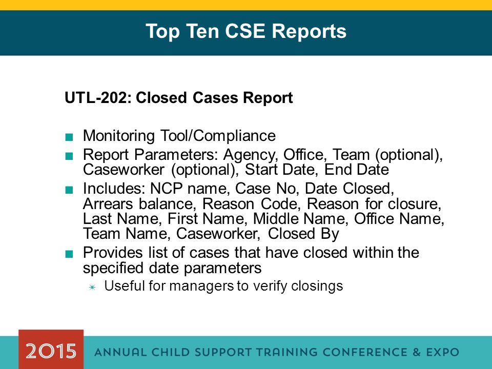 The Big Bang Theory – Top 10 Reports in CSE Craig Neiman