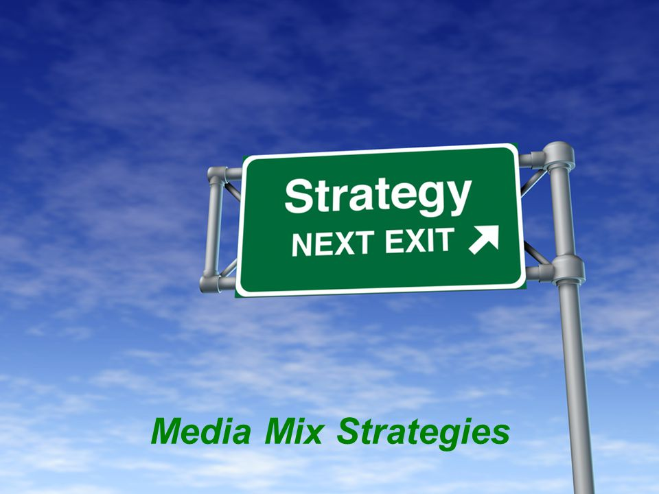 Most brands use a variety of targeted media vehicles, called a media mix