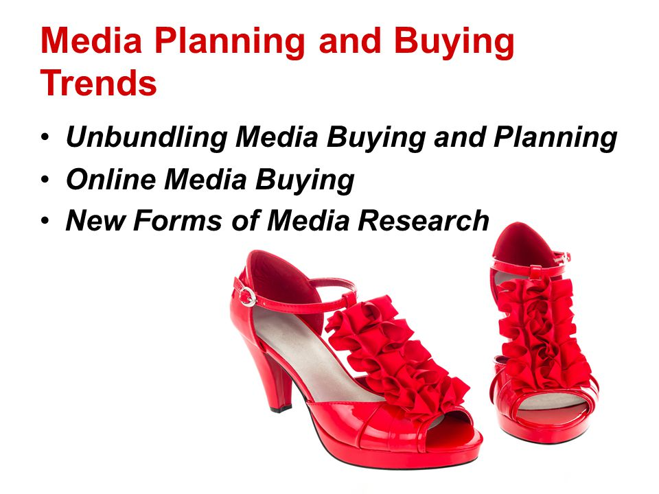 Media Planning and Buying Trends