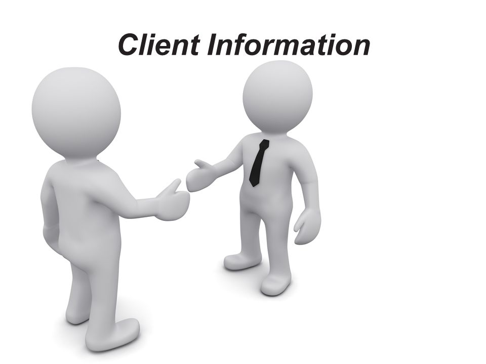 Client Information