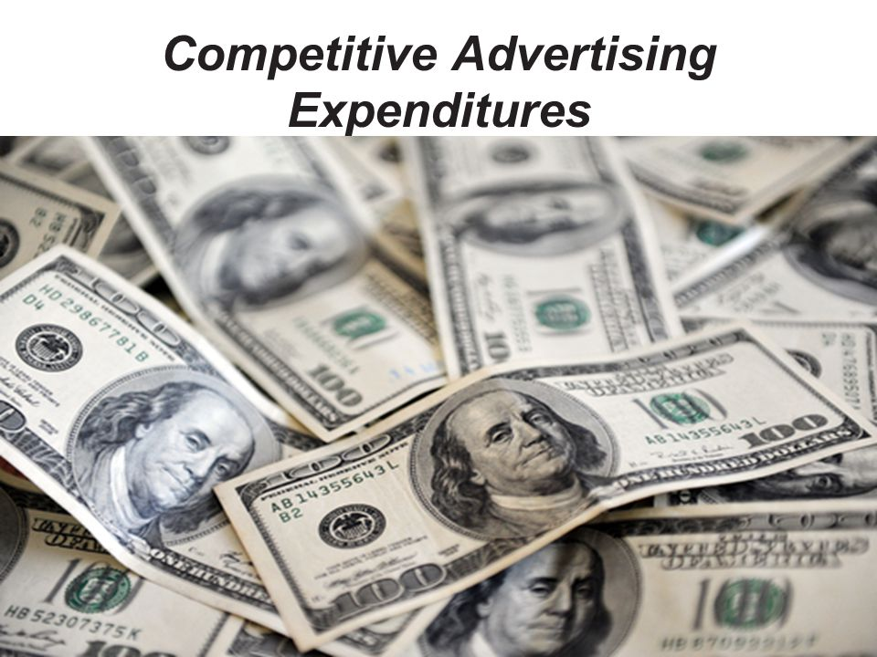 Competitive Advertising Expenditures