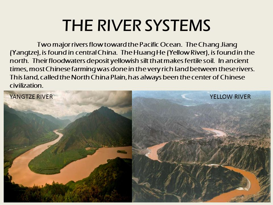 THE RIVER SYSTEMS