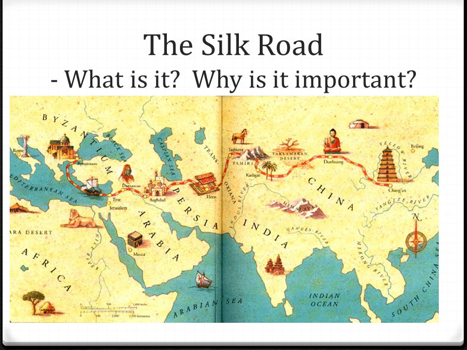 The Silk Road - What is it Why is it important