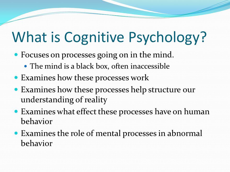 Cognitive Psychology. - ppt download
