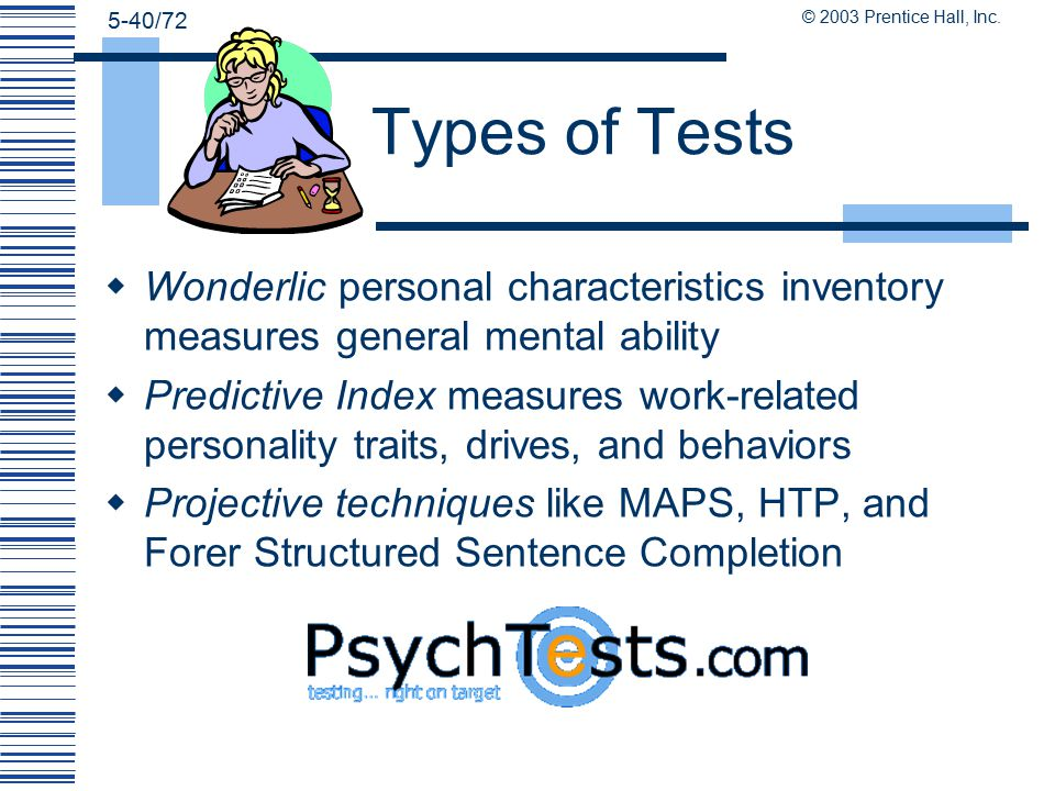predictive index tests
