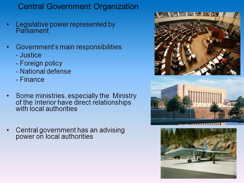 Central Government Organization