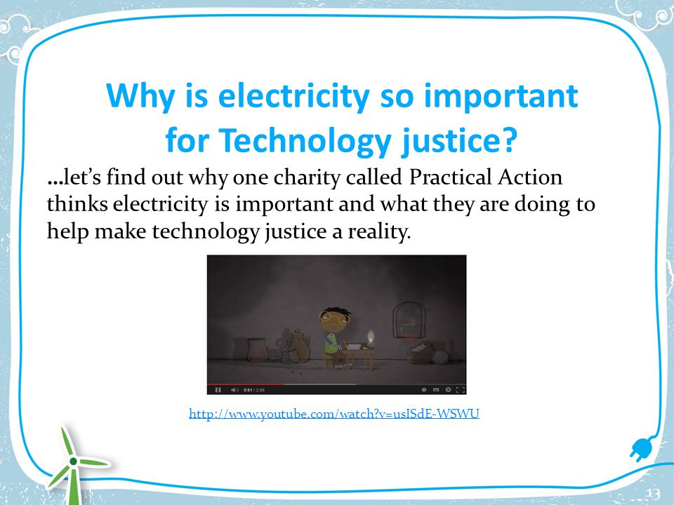 why is electricity important