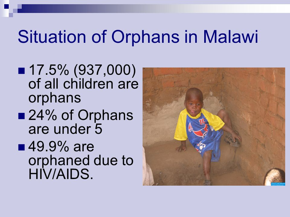 Situation of Orphans in Malawi