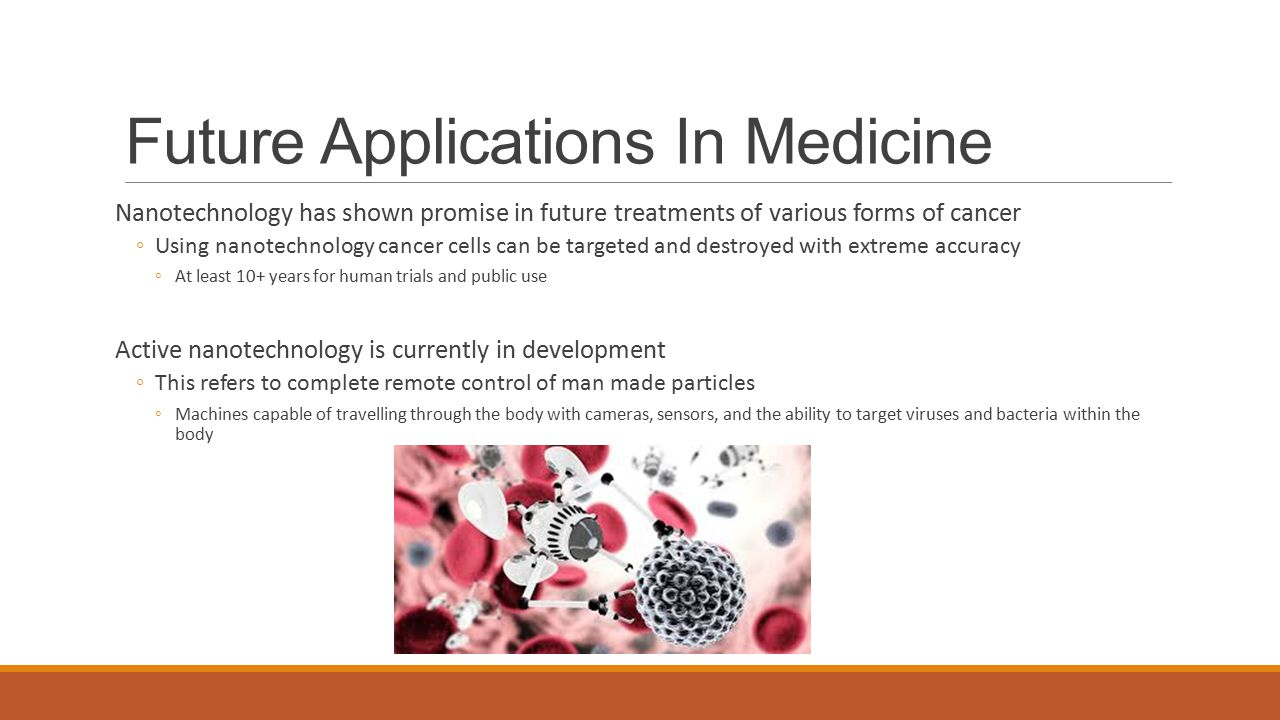 Nanotechnology and its Application in Medicine - ppt video