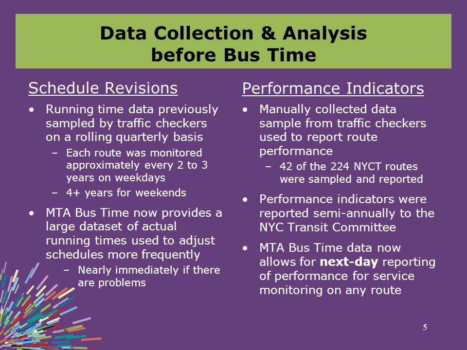 MTA Bus Time Implementation