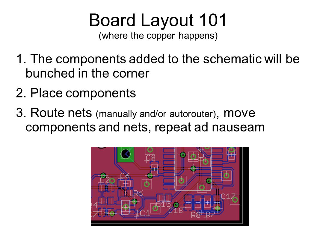 Mp505 2pm On Tuesday June 3 10 17 24 And Wed July 2 Ppt Video For Pcb Design Including Schematic Capture Board Layout Autorouter 20