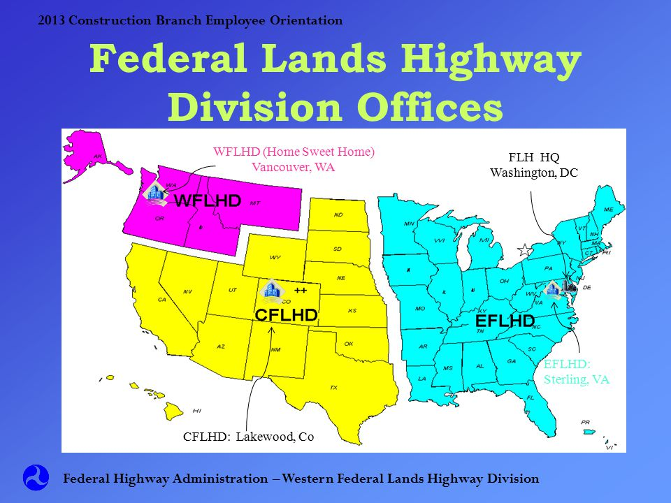 Western Federal Lands Construction Branch Employee