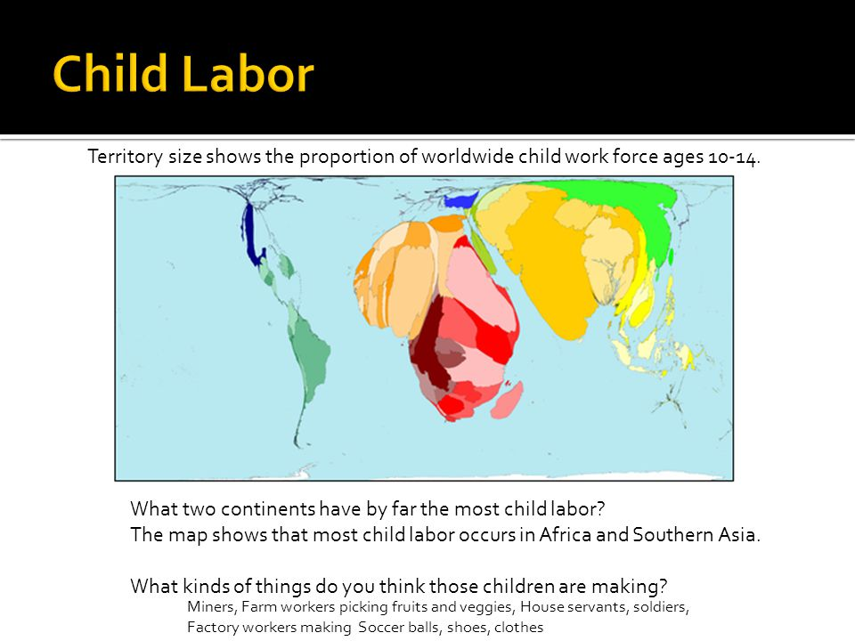 World mapper look at globalization basic world map ppt video 26 child labor gumiabroncs Images