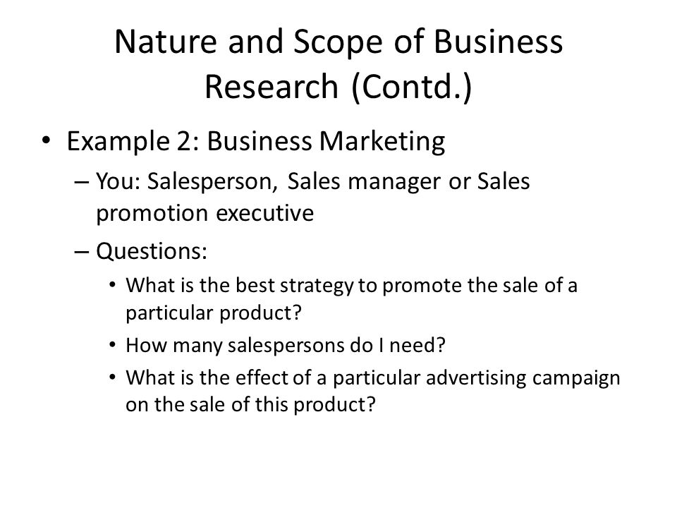 business research topics