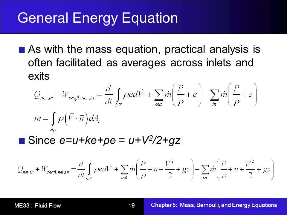 Energy Equation Ace Energy