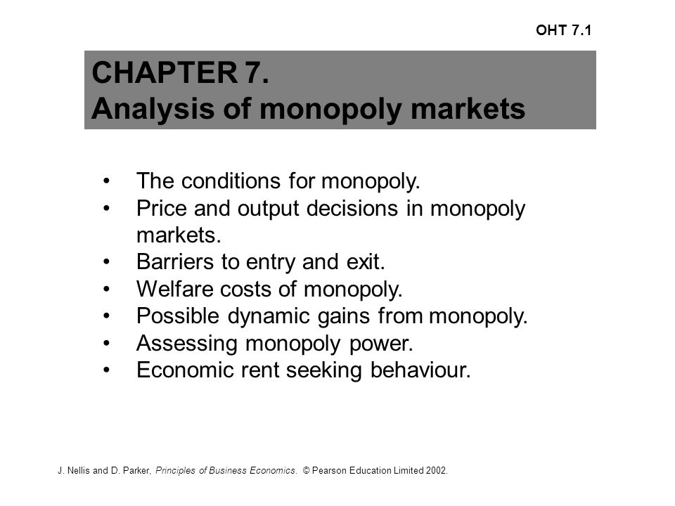an analysis of monopolies harmful Monopoly itself is not necessarily bad, but rather it is the abuse of monopoly power that is harmful this statement is an excessive simplification, and it can be indicative of a.
