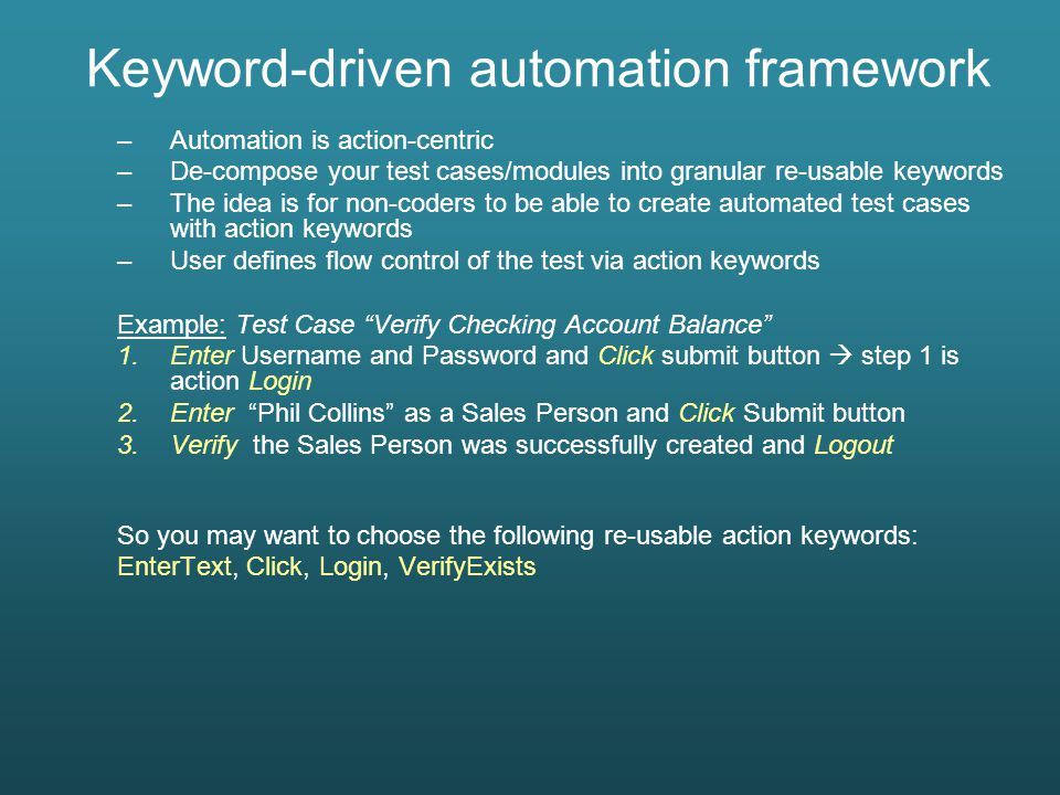 Test Automation Best Practices - ppt download