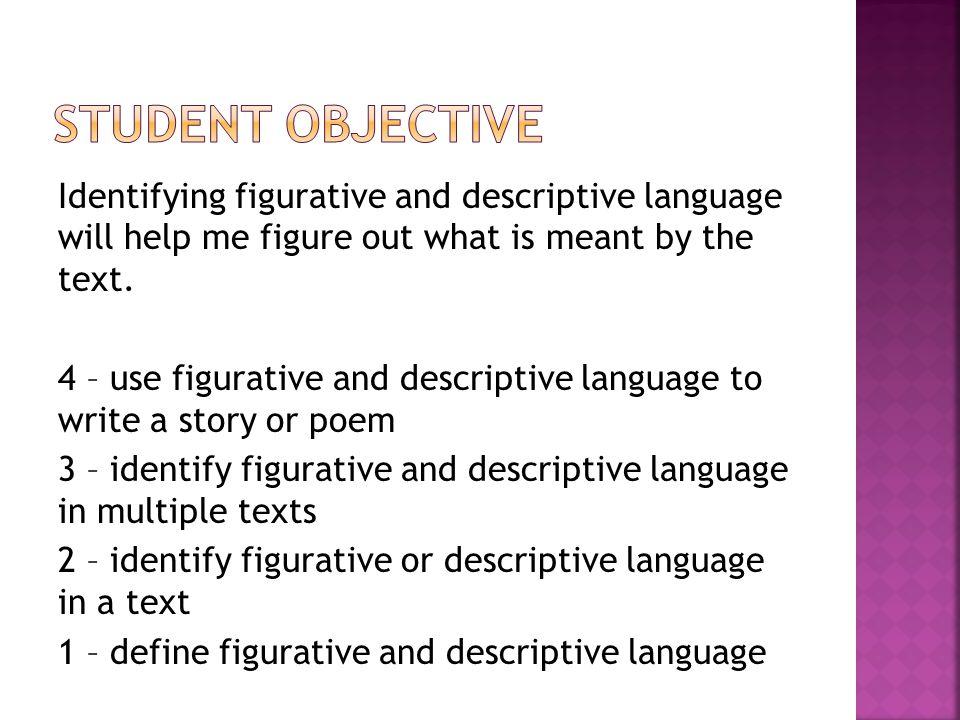 define descriptive writing