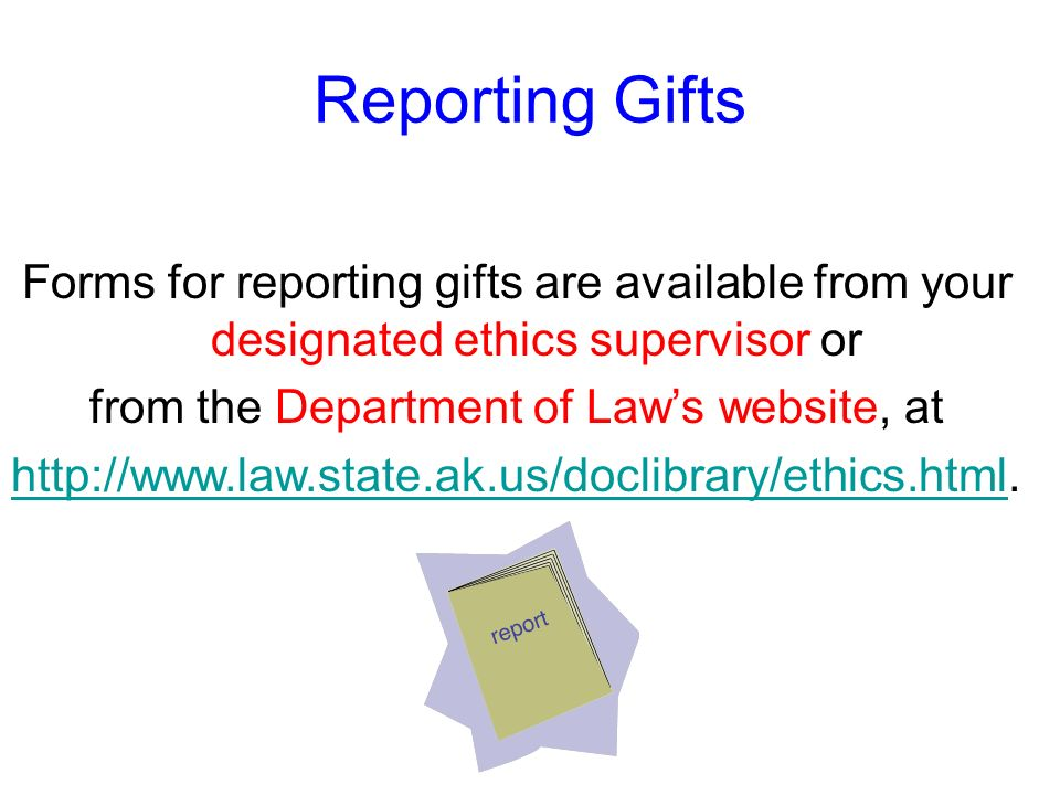 from the Department of Law's website, at