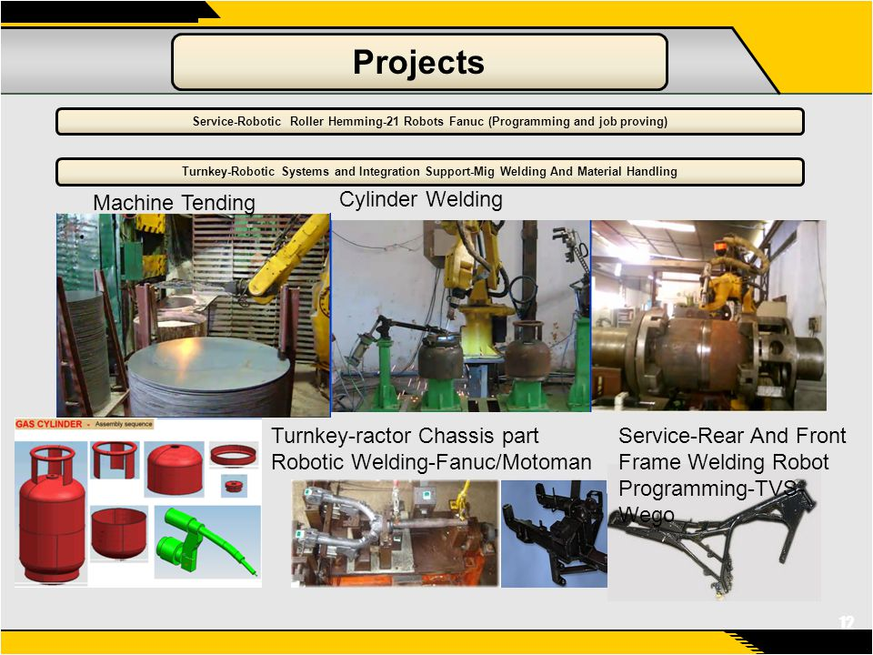 Geometrix Automation And Robotic Solutions - ppt video