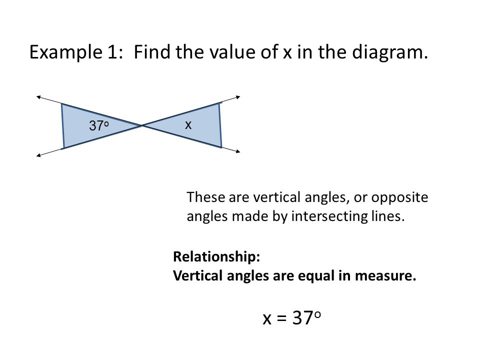 Using angle relationships ppt video online download notes solving problems using angle relationships ccuart Choice Image