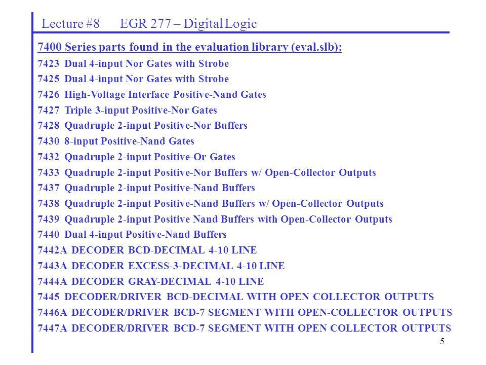 lecture 8 egr 277 digital logic ppt download rh slideplayer com
