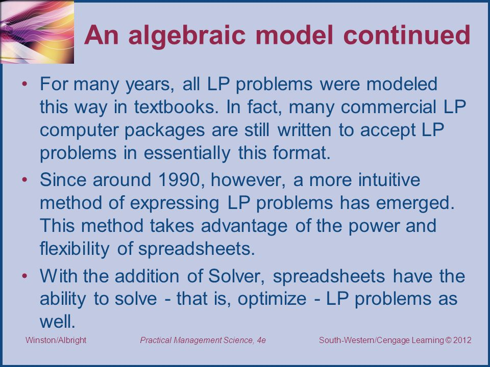 Introduction to Optimization Modeling - ppt download