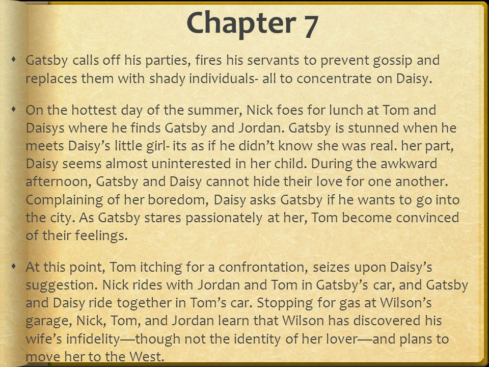 daisys love in the great gatsby by f scott fitzgerald For love, or money the great gatsby, by f scott fitzgerald, is a novel about jay gatsby's constant quest to win over his love of the past, daisy buchanan.