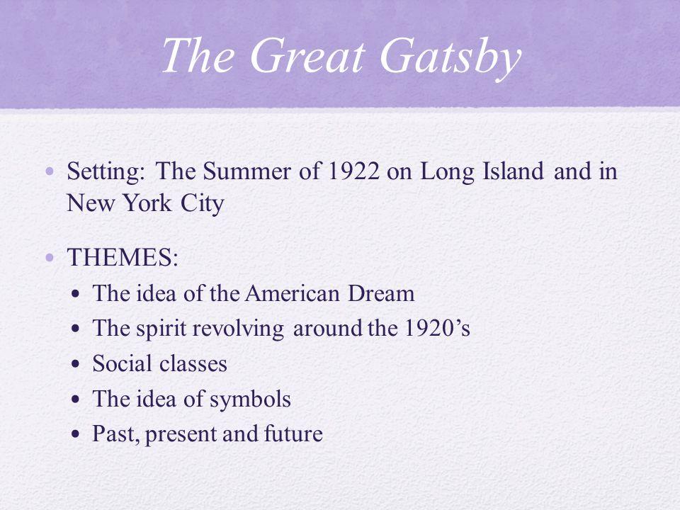 the great gatsby 1920s society
