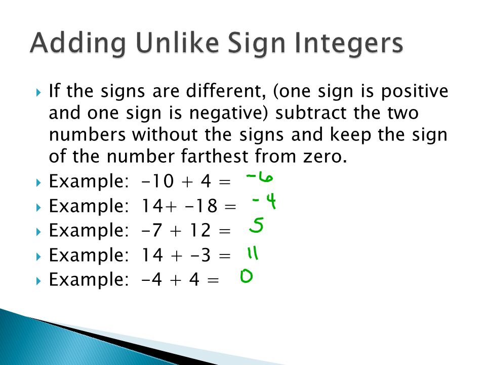 Integers Adding Subtracting Multiplying And Dividing Ppt Video