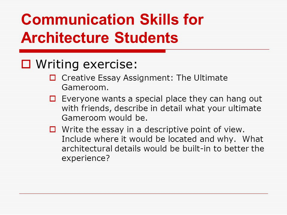 Communication Skills For Architecture Students  Ppt Download Communication Skills For Architecture Students