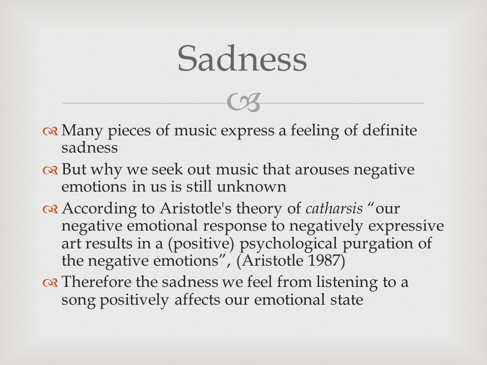 How does music express emotion